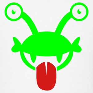 kids alien with googly eyes and crazy tongue Tanks - Men's T-Shirt