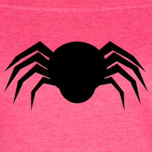 simple spider shape Tanks - Women's Vintage Sport T-Shirt