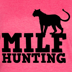 MILF hunting with cougar Tanks - Women's Vintage Sport T-Shirt