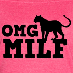 OMG MILF with cougar Tanks - Women's Vintage Sport T-Shirt