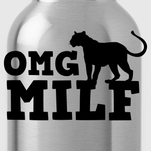 OMG MILF with cougar Tanks - Water Bottle