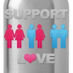 Support Love! - Water Bottle