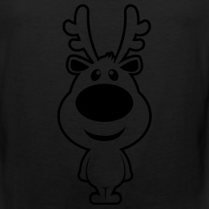 rudolf raindeer Women's T-Shirts - Men's Premium Tank