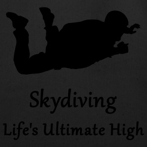 Skydiving Life's Ultimate High Long Sleeve Shirts - Eco-Friendly Cotton Tote