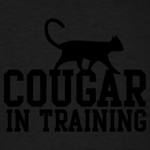 COUGAR IN TRAINING Long Sleeve Shirts - Men's T-Shirt