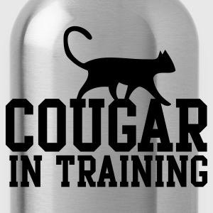 COUGAR IN TRAINING Long Sleeve Shirts - Water Bottle