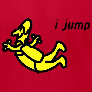 I Jump Hoodies - Men's T-Shirt by American Apparel