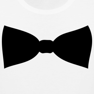 Bow tie Women's T-Shirts - Men's Premium Tank
