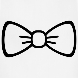 Bow tie Women's T-Shirts - Adjustable Apron