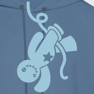 voodoo happy child all tied up hanging from the neckline T-Shirts - Men's Hoodie