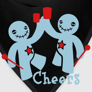 voodoo children cheers beer T-Shirts - Bandana