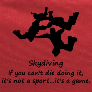 Skydiving If You Can't Die Doing It, It's Not A Sport...It's A Game. - Computer Backpack