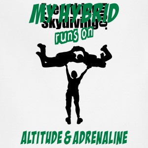 My Hybrid Runs On Altitude & Adrenaline - Adjustable Apron