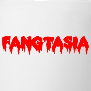 FANGTASIA vampire club font Caps - Coffee/Tea Mug