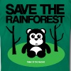 Save the Rainforest - Men's T-Shirt by American Apparel