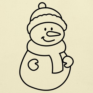 snowman Baby Bodysuits - Eco-Friendly Cotton Tote