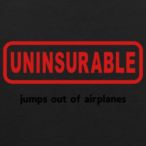 Uninsurable Jumps Out Of Airplanes - Men's Premium Tank