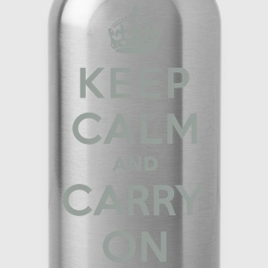 Keep Calm and Carry On (vector) Women's T-Shirts - Water Bottle