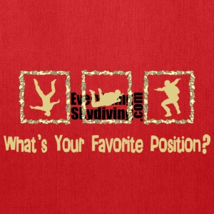 What's Your Favorite Position? Cream T-Shirts - Tote Bag