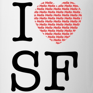 I Hella Hella Love San Francisco Hoodie - Coffee/Tea Mug