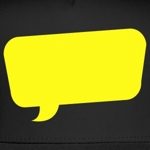 speech bubble funky turned Tanks - Trucker Cap