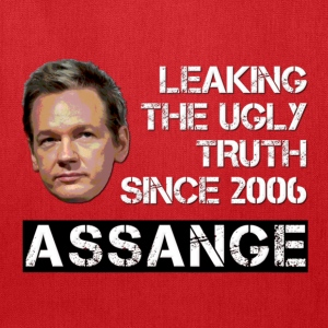 Assange Ugly Truth Wikileaks For Dark Kids' Shirts - Tote Bag