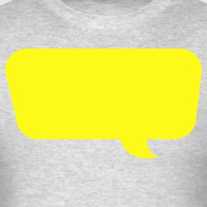 speech bubble different Long Sleeve Shirts - Men's T-Shirt