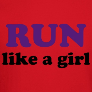 run like a girl Women's T-Shirts - Crewneck Sweatshirt