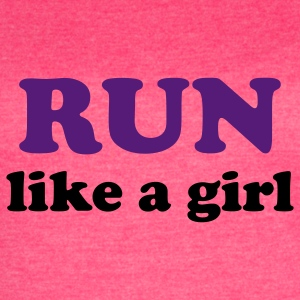 run like a girl Tanks - Women's Vintage Sport T-Shirt