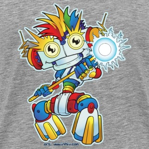 Rainbow-bright-bot - Men's Premium T-Shirt