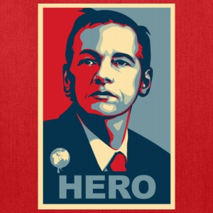 Assange Hero Wikileaks Kids' Shirts - Tote Bag