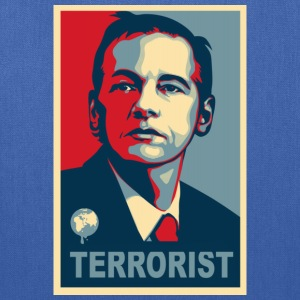 Assange Terrorist Wikileaks Kids' Shirts - Tote Bag