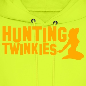 hunting twinkies teenage girls NSFW T-Shirts - Men's Hoodie