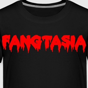 FANGTASIA vampire club font Kids' Shirts - Toddler Premium T-Shirt