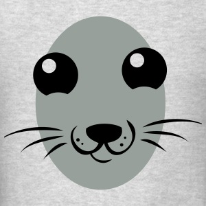really cute seal face Sweatshirts - Men's T-Shirt