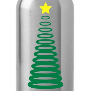 Christmas xmas tree circles T-Shirts - Water Bottle