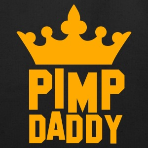PIMP DADDY with kigs crown Women's T-Shirts - Eco-Friendly Cotton Tote