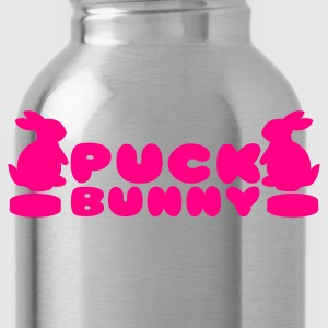 Pucky bunnies Bunny Hockey ladies Women's T-Shirts - Water Bottle