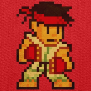 Pixelfighter Karateka Hoodies - Tote Bag