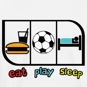 EAT PLAY SLEEP - Men's Premium T-Shirt