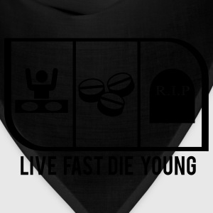 LIVE FAST DIE YOUNG - Bandana