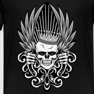 Gothic King Skull Sweatshirts - Toddler Premium T-Shirt