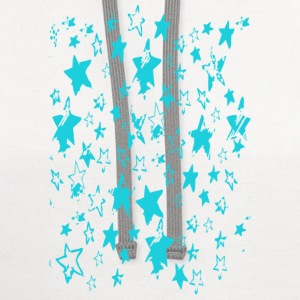 Women's Million Stars V-Neck Tee - Contrast Hoodie