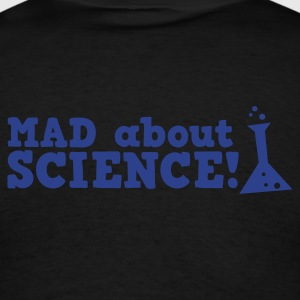 mad about science ! with test tube Long Sleeve Shirts - Men's T-Shirt