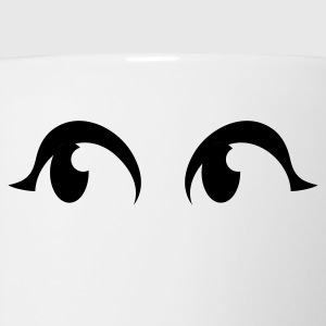 cool pair of eyes Long Sleeve Shirts - Coffee/Tea Mug