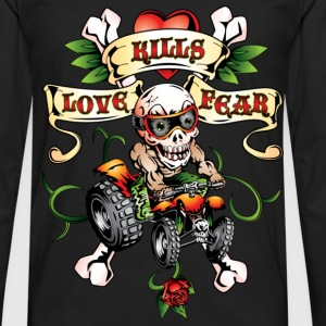 Love Kills Fear Quad Style - Men's Premium Long Sleeve T-Shirt
