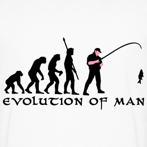 evolution_angler_b_2c_fisch T-Shirts - Men's Premium Long Sleeve T-Shirt