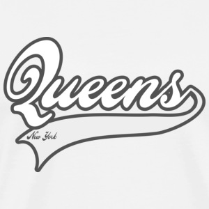 queens new york Hoodies - Men's Premium T-Shirt