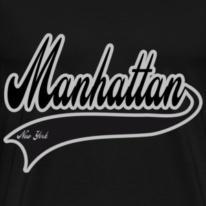 manhattan new york Hoodies - Men's Premium T-Shirt