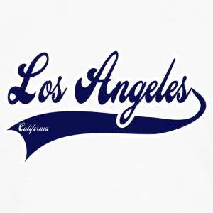 los angeles california Hoodies - Men's Premium Long Sleeve T-Shirt